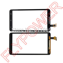 for Star Note2 N9776 MTK6577 Touch Screen Digitizer panel glass black by Free Shipping(China (Mainland))