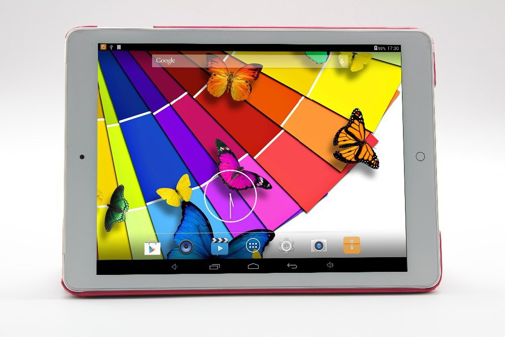 9.7 inch Tablet Pc Quad Core Android 4.4 Bluetooth WiFi Dual camera 1Gb+16Gb 1024*768 Tablets Pc Allwinner A33 9.7