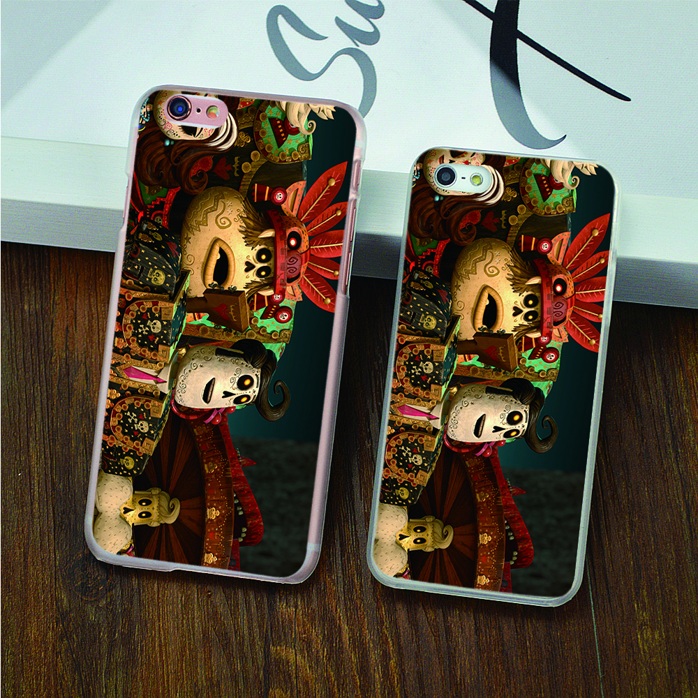 The Book of Life review hard transparent Case for iPhone 4 4s 5 5s 5c 6 6s 6 Plus 6s Plus phone cover shell(China (Mainland))