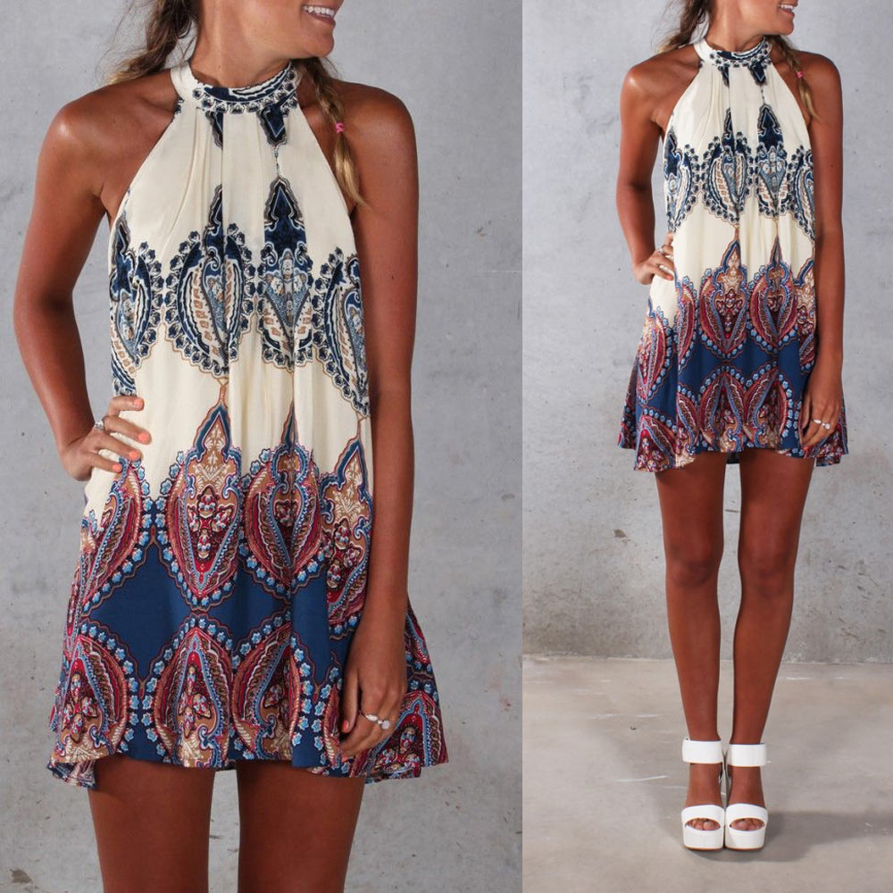 Boho Cheap Clothing Fashion Women Boho Dress