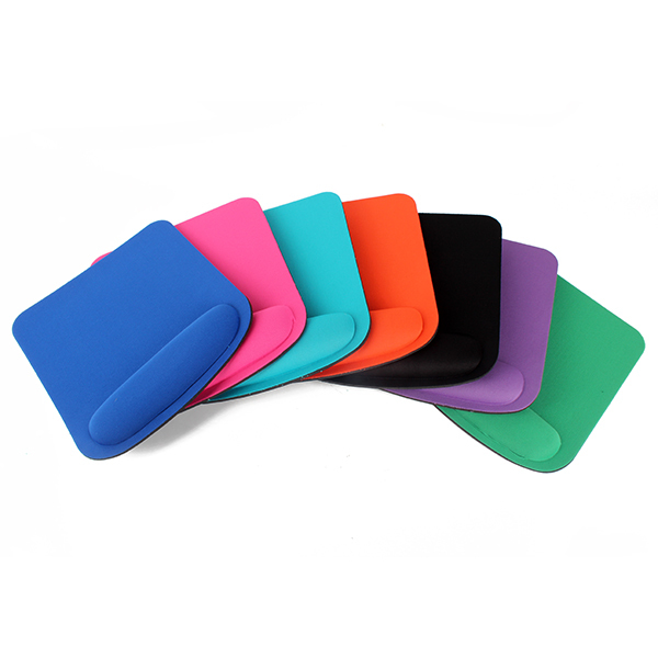 NEW Square Thicken Comfy Wrist For Optical / Trackball Mouse Pad Mat Mice Pad(Hong Kong)