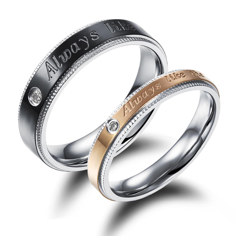 Moda europea carter amor anillo de compromiso de lujo CZ anillos de diamantes mujeres del copo