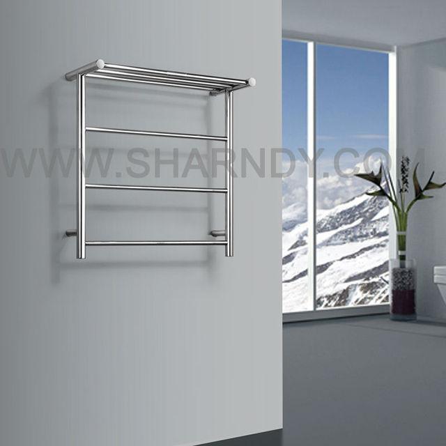 Sharndy estantes de ba o cuerpo de acero toalleros for Estante porta toallas para bano
