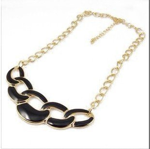 Free Shipping~~2015 Fashion Jewelry Punk Neon Color Chunky Choker Necklace for Women N123