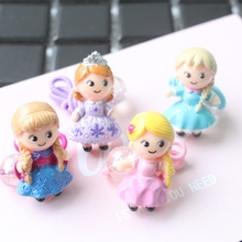 Buy 2017 New Fine Resin Princess Girls Hair Accessories Children Headwear Kids Elastic Hair Bands Ropes Baby Headdress for $1.74 in AliExpress store