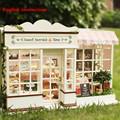 Wooden Dolls house 3D Handcraft Miniature Kit