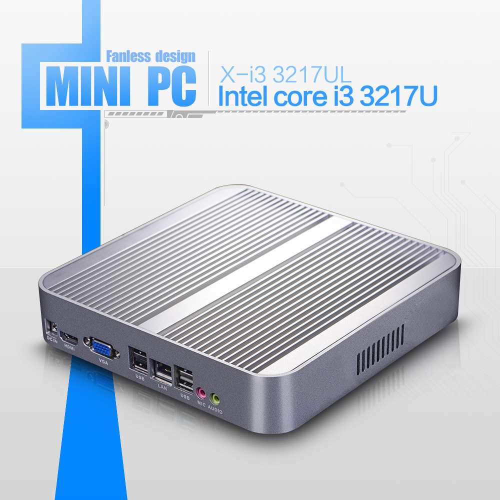 Best quality i5 3317u 1.7GHZ 4GB RAM 128G SSD micro industrial pc Mini Computer station thin client support HD video(China (Mainland))