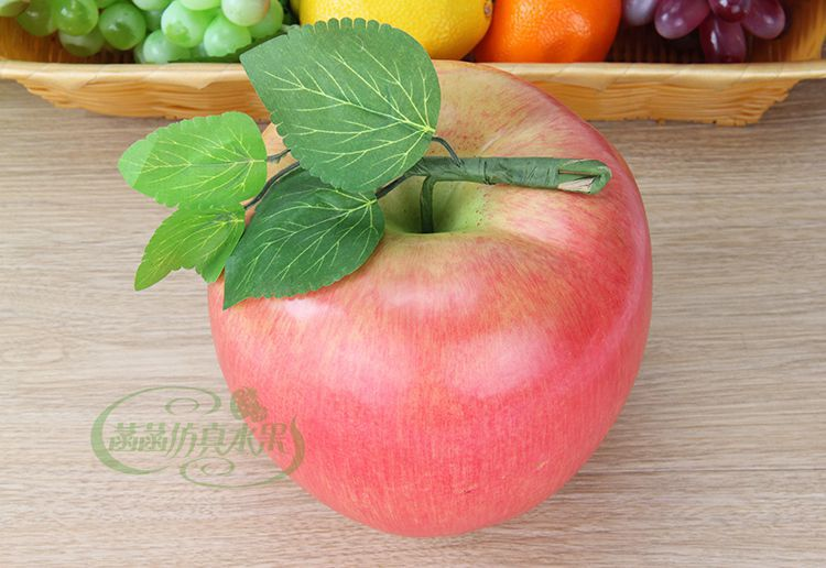Artificial Big Apple Painting Model Home Decoration Photography Show Props Artificial Big Apple(China (Mainland))