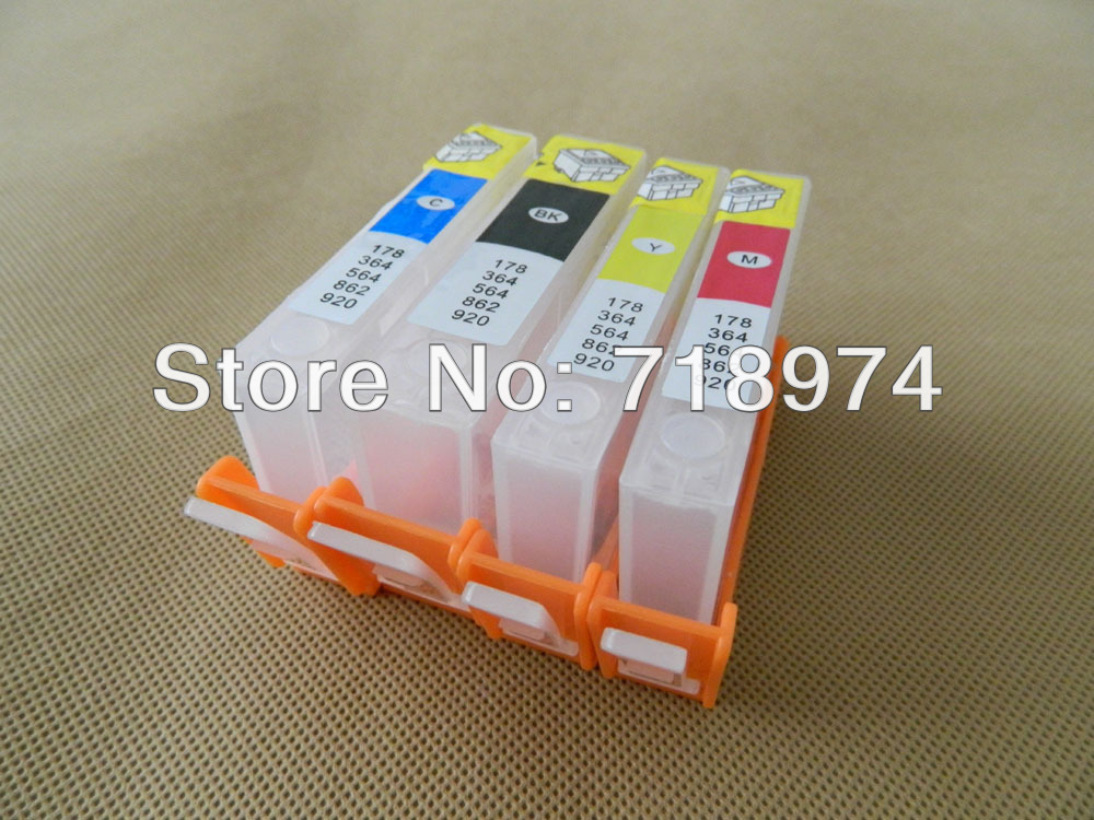 Hot ! Inkjet printer cartridge for HP officejet 6000 6500 7000 for HP 920 with ARC chips Free shipping china post(China (Mainland))