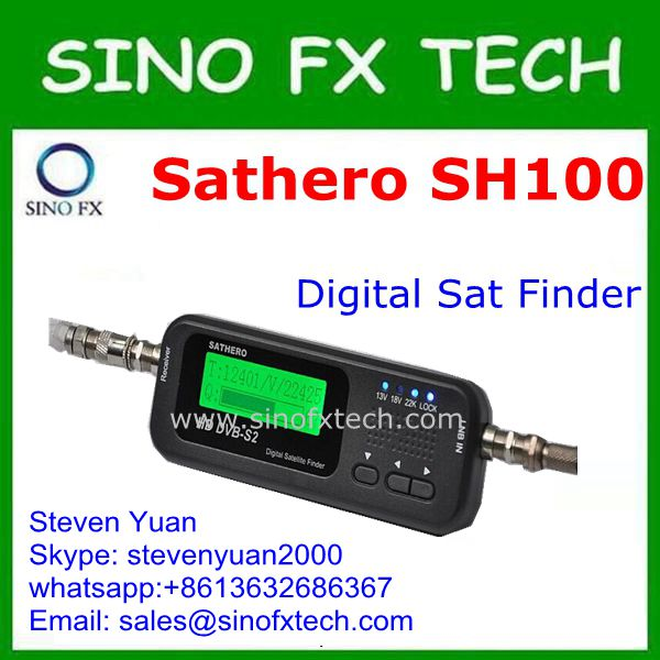 2016 origina DVB-S2 Sathero SH-100HD Pocket Digital Satellite Finder Satellite Meter Sathero SH100 HD<br><br>Aliexpress