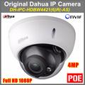 Original Dahua DH IPC HDBW4421R IP Camera 4MP 2688 1520 Onvif Dome Camera Full HD 1080P