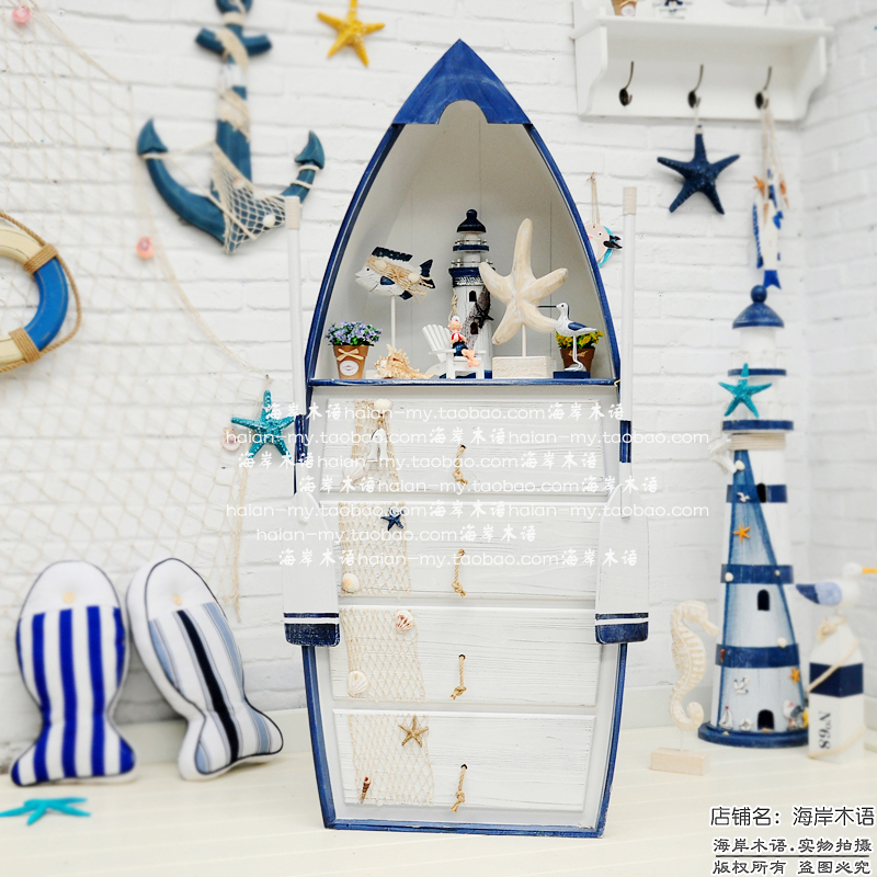 the mediterranean style boat drawers ocean winds creative home decor children 39 s room clothing storage
