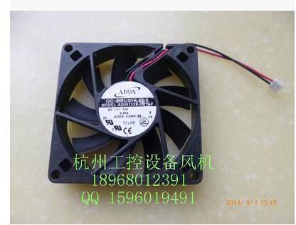 Genuine ADDA 8015 DC12V 8CM dual ball AD0812XB-D91GP fan power supply fan CUP fan<br><br>Aliexpress