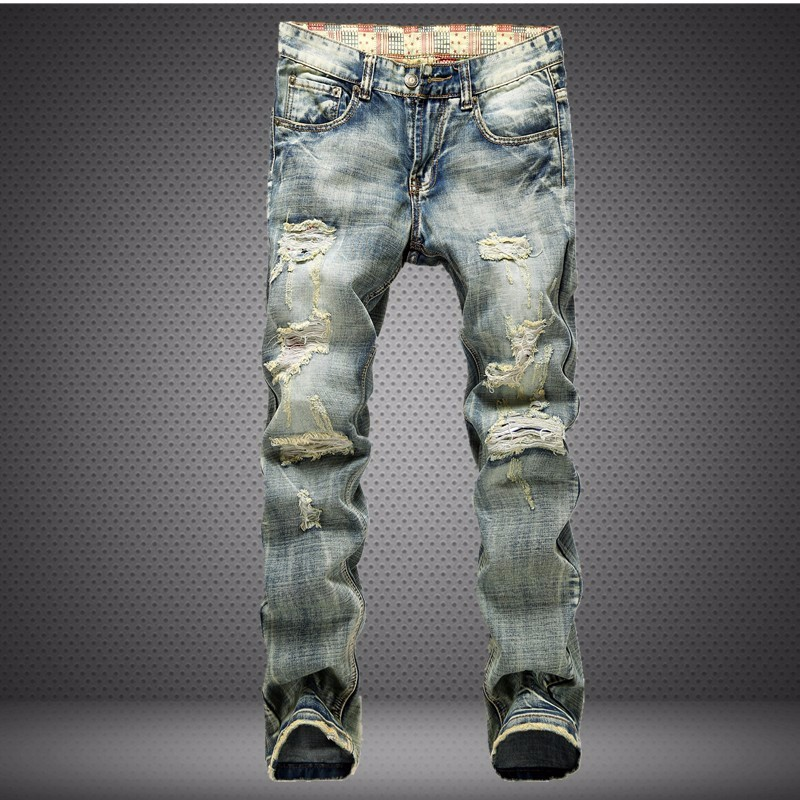Popular Jeans Hole Men-Buy Cheap Jeans Hole Men lots from China ...