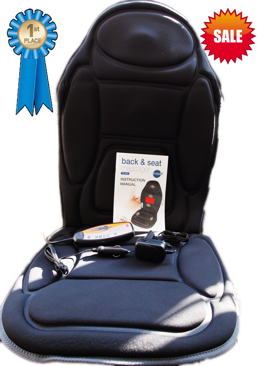 Massage Seat Topper For Car
