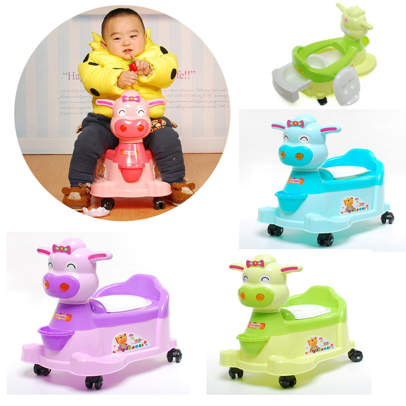 Cute baby kid car baby buggy with urinal toilet box toys for kids car toys()