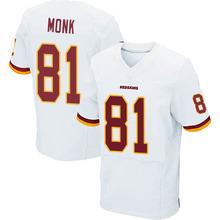 Men's #81 Art Monk Elite White Jersey 100% Stitched(China (Mainland))