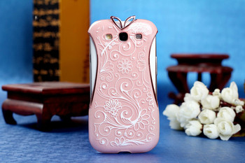 1 pcs  free shipping Hot Selling Luxury Cheongsam plastic case for samsung galaxy s3 i9300 case Cell Phone Accessories