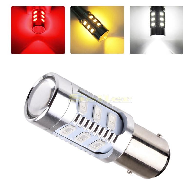 2pcs led 1157 bay15d 5630 cree brake tail led Stop Light Bulbs red power car light D0035(China (Mainland))