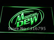 a162-g Mountain Dew Energy Drink Sport LED Neon Sign with On/Off Switch 7 Colors to choose(China (Mainland))
