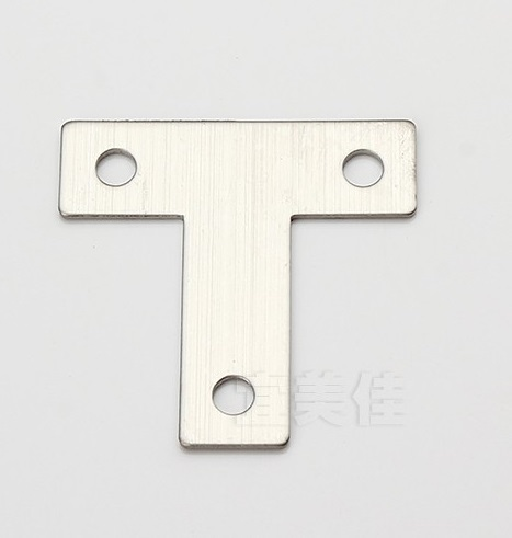 4pcs 40*40mm stainless steel angle bracket T shape satin finish frame board support(China (Mainland))
