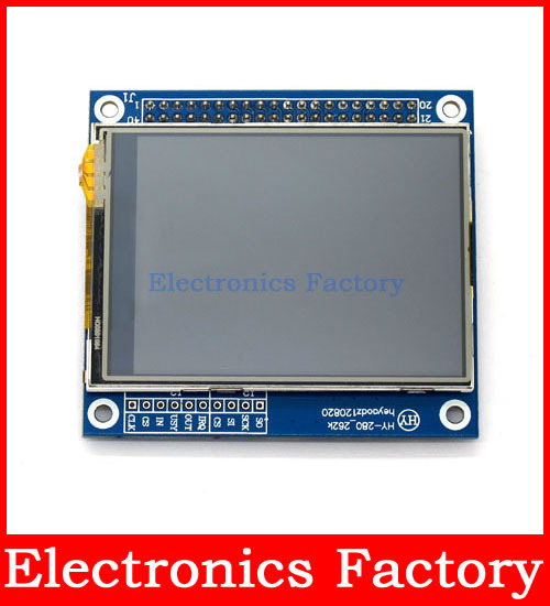 "2.8"" Inch 240x320 Pixels TFT LCD Display Screen module Touch Panel Mega2560 SD card Mega/UNO/AVR/ARM project(China (Mainland))"