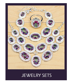 925 Sterling Silver Bridal Jewelry Sets Yellow Cubic Zirconia Decoration For Women Earrings Rings Bracelet Pendant Necklace Set