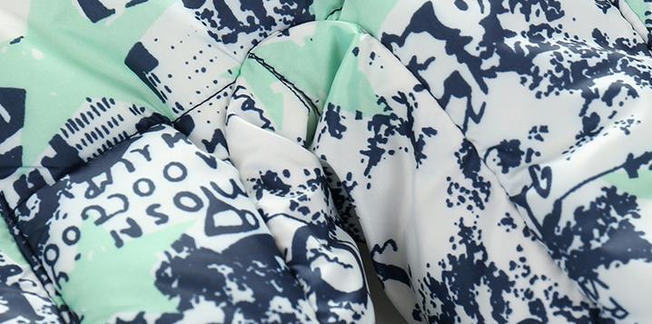 Скидки на Милые Детские Зимние Rompers Младенческой Детская Одежда Детей Длинным Рукавом С Капюшоном Печати Комбинезон Мальчики Девочки Теплая Целом Menino Menino