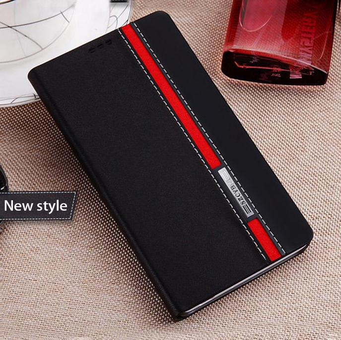 New Good taste Double color collision popular phone back cover cases flip popular leather sfor nokia lumia 820 n820 case(China (Mainland))