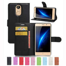 New Luxury Original PU Leather Case For lEAGOO M5 Flip Shell Back Cover With Card Holder Stander(China (Mainland))