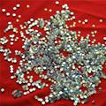 Misture Tamanhos 1000 Unidades/pacote Crystal Clear AB Não Hotfix Strass Flatback Prego Rhinestoens Para Unhas 3D Nail Art Decoração Gems