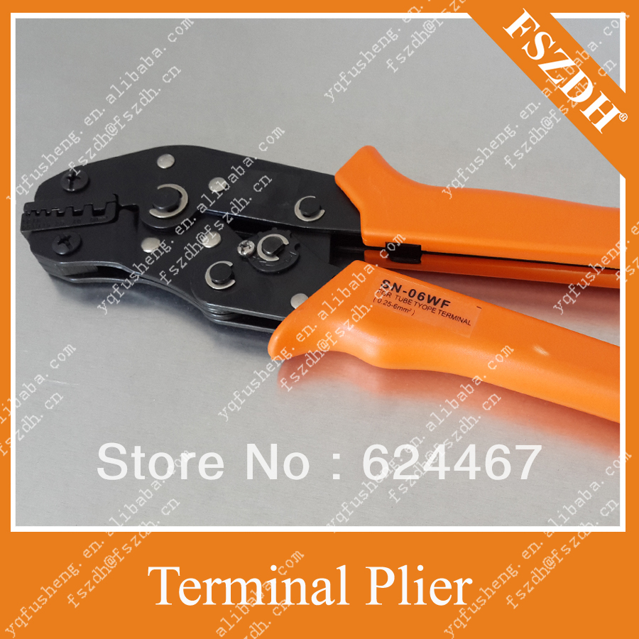 Crimping Pliers Wire Connectors cold terminal crimping tools Tool clamp - Yueqing Fusheng Automation Fixture Factory store