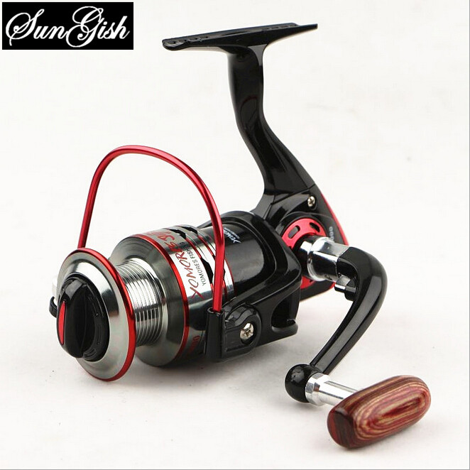Factory direct sales vessel MH1000-7000 metal wire cup non gap fish wheel fishing reel FD0025(China (Mainland))