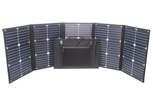 100watts sunpower folding solar panel charger with MC4 plugs with charge controller for 12V battery(China (Mainland))