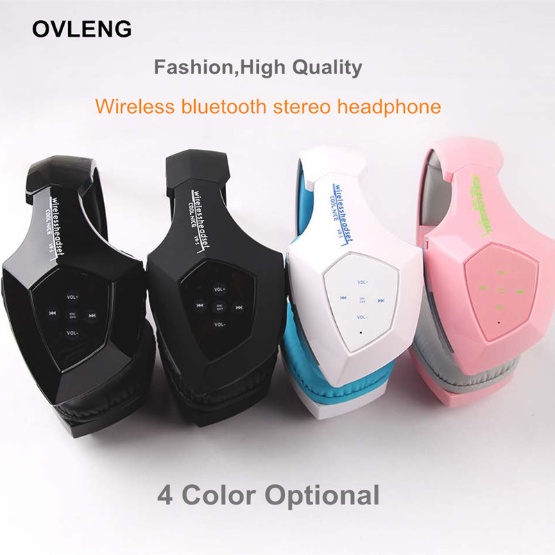 OVLENG Headset Touch Button Wireless Bluetooth 4.0 Hifi Music Headphone For iPhone/Samsung Best Portable Mp3 Earphone oreillette от Aliexpress INT