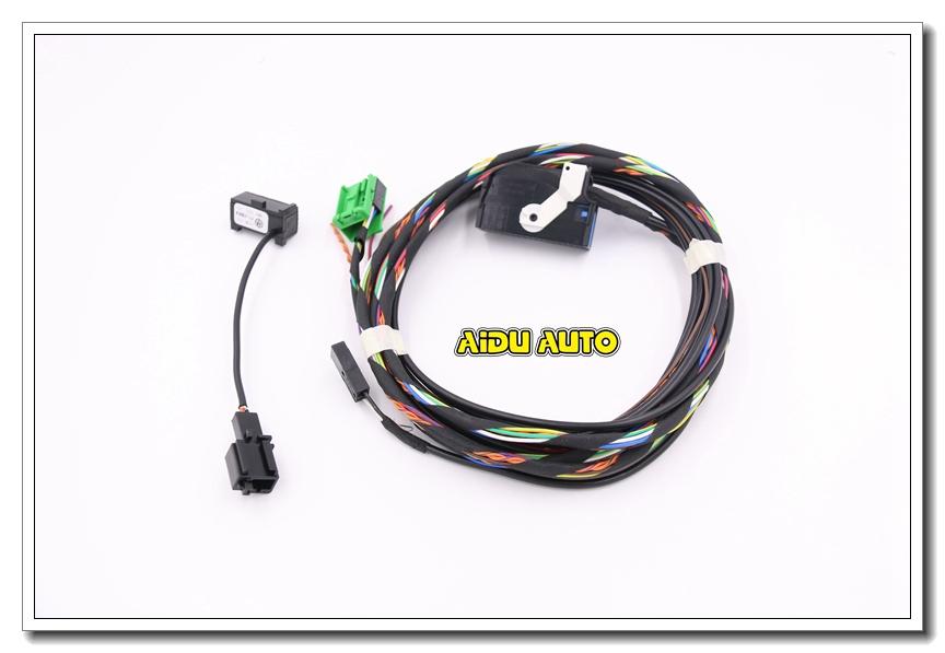 mfsw module  u0026 airbag harness set for vw jetta 5 golf 6 gti