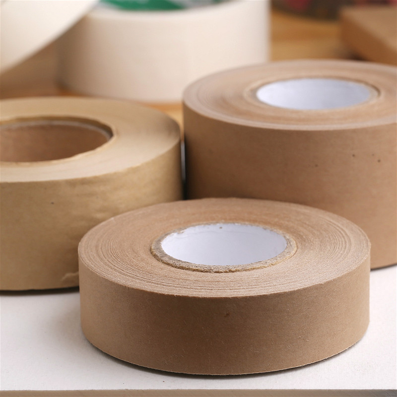 Painting -used water soluble tape wet water kraft paper tape 2.4cm/ 3.6cm/ 4.8cm(China (Mainland))