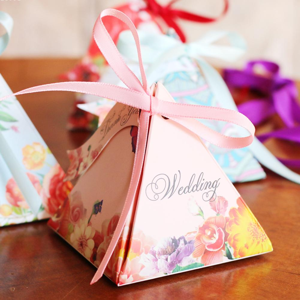 2pcs/lot European Style Floral Wedding Candy Boxes Wedding Favor Sweets Box Paper Case wedding W50(China (Mainland))