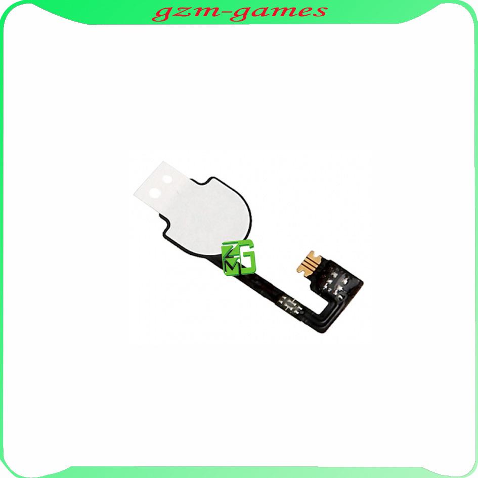 5pcs/lot For Iphone 4 4G Home Menu Button Keypad Flex