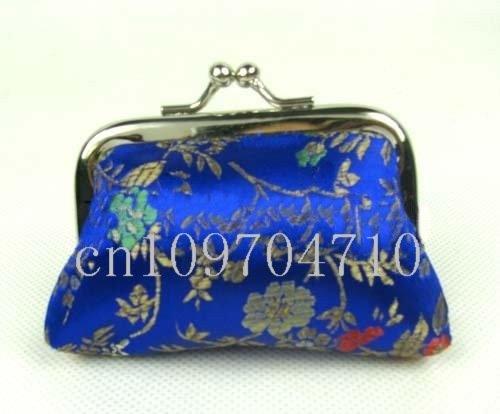 Free shipping! New WHOLESALE 20pcs HANDMADE CHINESE SILK COIN PURSES Bags satin bag biggest size 12cmx10cm(China (Mainland))