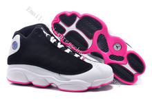 new 2016 womens air jordan 13 xiii retro mid red cp3 melo db black yellow with original box for sale woman size US5.5 to 8.5(China (Mainland))