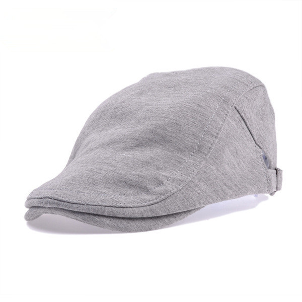 Solid Cotton Gatsby Cap Mens Ivy Hat Golf Driving Summer Sun Flat Cabbie Newsboy - sincerity forever's store