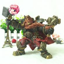 Magni Bronzebeard Mountain King 6 inch Dwarven The Human League hero Wow PVC Model Action Figure Game 2016 Movie classic Toys