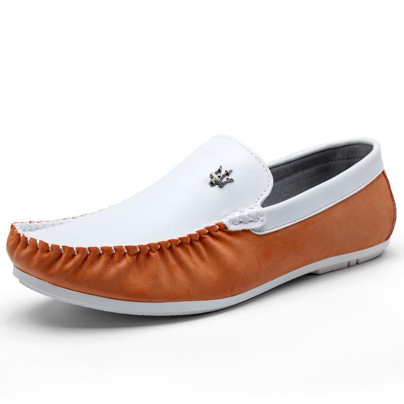 2015 new Doug shoes casual shoes men's shoes autumn Korean driving breathable casual shoes Metrosexual paragraph