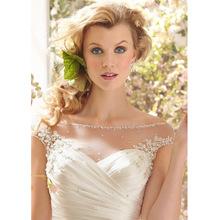 Mermaid Wedding Dress Off the Shoulder Floor Length Bride Dresses 2014 Vestido Autumn Winter Elegant Classical