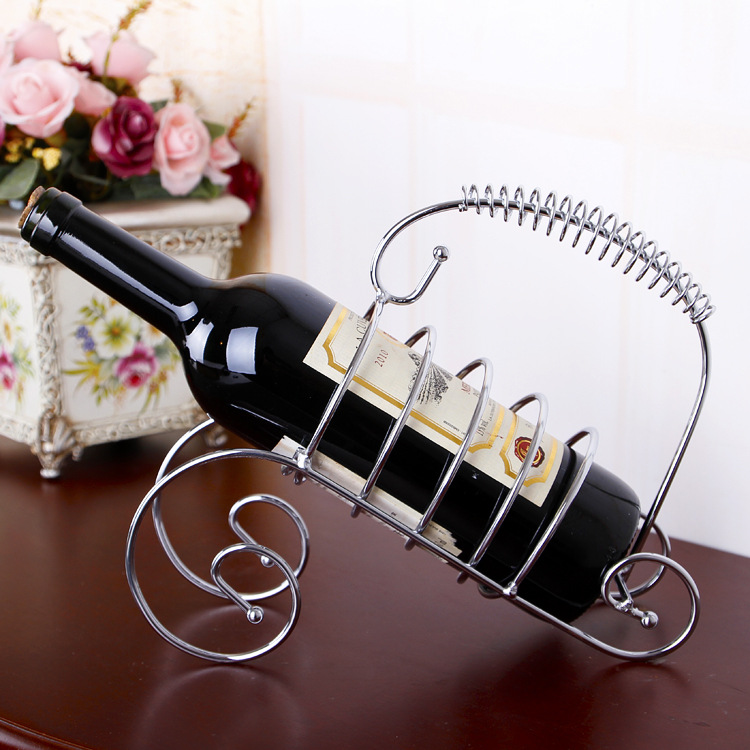 Taobao home decoration ornaments creative home bar C Iron stainless Arts grape wine rack TY605<br><br>Aliexpress