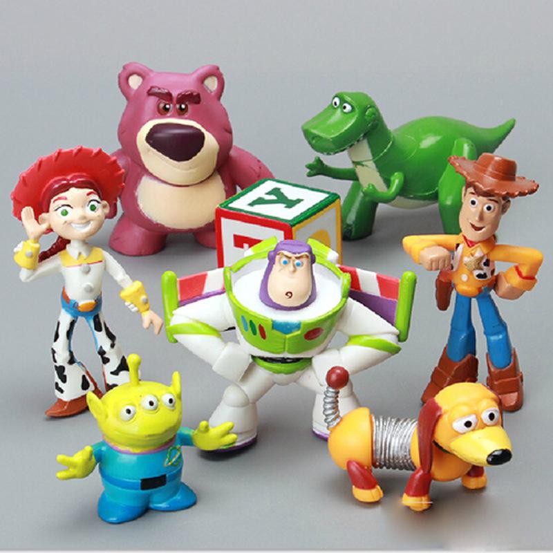 Online kopen Wholesale toy story beeldjes uit China toy story beeldjes ...