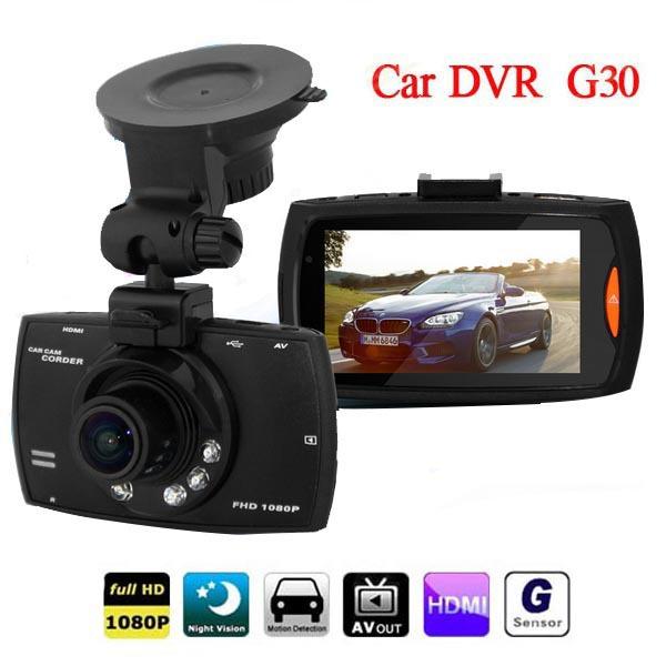 "Best Selling G30 2.7"" Car Dvr 140 Degree Wide Angle Full HD 1080P Car Camera Recorder Video Registrator Night Vision G-Sensor(China (Mainland))"