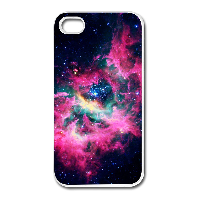 Case For Iphone 4s Custom Cool Night sky and red cloud Team Logo Cases For Iphone 4 4s Cheap(China (Mainland))