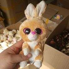 Buy GonLeI Ty Beanie Boos rabbit 6inch Big Eyes Beanie Baby Plush Stuffed Doll Toy Collectible Soft Plush Toys Kids Gift for $4.99 in AliExpress store